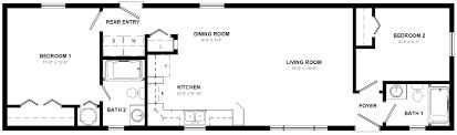 oak point mini home floor plan mini homes home designs