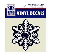 penn state alumni sticker penn state snowflake decal souvenirs car accessories decals