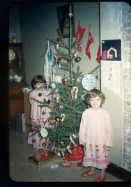 how to decorate a real christmas tree vintage christmas tree easy