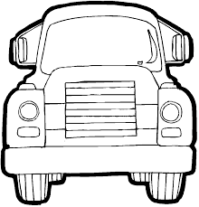 trucks coloring pages simple free printable monster truck