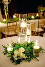 candle centerpieces for tables hurricane candle centerpieces lemondededom com