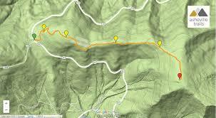 Rock Tunnel Leaf Green Map Roan Mountain Hiking The Appalachian Trail To Grassy Ridge