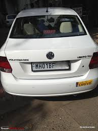 volkswagen vento white the vw vento tdi highline 2 year 30k update team bhp