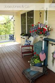 Summer Porch Decor by 139 Best 4th Of July Outdoor Decorations Images On Pinterest