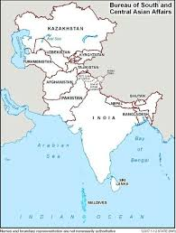 south asia countries map south and central asian affairs countries and other areas