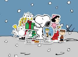 peanuts christmas characters path