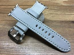 apple watch light blue apple watch band iwatch band leather watch band handmade