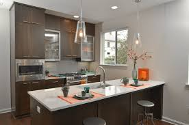 kitchen island lighting overhead recessed remodel pendant dimly