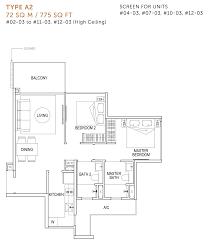 floor plans signature at yishun