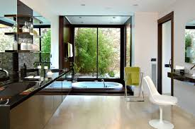 interior modern and futuristic home interior design white exterior