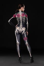 Camel Toe Halloween Costume Skeleton Glam Halloween Costume Body Skeleton