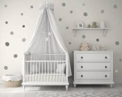 Wall Decal Black Triangle Baby Nursery Wall Decal Kids Wall - Polka dot wall decals for kids rooms