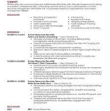 luxurious and splendid human resources resume samples 7 amazing