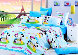 minnie mouse twin bed blue mickey and mouse bedding sets minnie