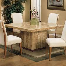 Marble Dining Room Table Interesting Design Square Marble Dining Table Tremendous Square