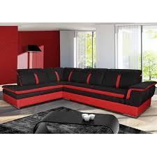 site de vente de canapé canapé d angle marion noir angle gauche achat vente canapé