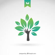green eco tree vector free