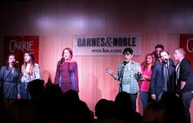 Barnes And Noble Cleveland Tn Coverage Marin Mazzie Molly Ranson And Carrie Cast Perform At