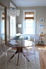 Round Dining Table With Armchairs Maximize Your Space With Acrylic Furniture