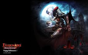 video game halloween background eudemons online wallpaper and background 1680x1050 id 218869