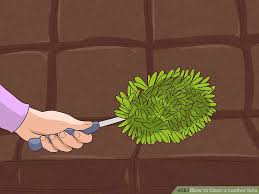 Cleaning Leather Sofa 4 Ways To Clean A Leather Sofa Wikihow