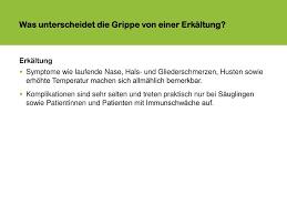immunschwäche symptome impfen gegen grippe informationen für das gesundheitsfachpersonal