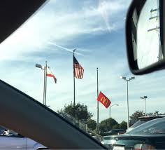 Why Are The Flags Half Mast Today So The Mcdonald U0027s Flag Is At Half Mast Today Funny