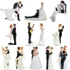 Funny Wedding Cake Toppers Romantic Funny Wedding Cake Topper Figure Bride Groom Couple