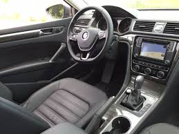 volkswagen sedan interior on the road review vw passat sel sedan the ellsworth