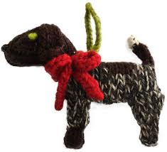 german shorthaired pointer ornament chilly sweaters