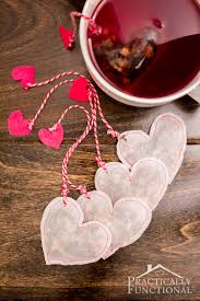 heart shaped tea bags diy heart shaped tea bags for s day