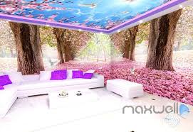 wallpaper for entire wall 3d cherry blossom tree entire living room office wallpaper wall