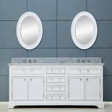 Bathroom Vanity Chest by Water Creation Derby 72wf Derby Pure White Double Basin Bathroom