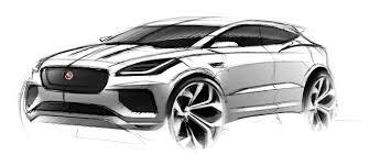 2018 jaguar e pace carsketchs pinterest sketches car sketch