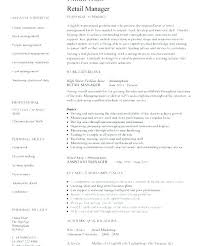retail manager resume template boutique manager resume tomoney info