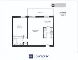 7 best images of junior 1 bedroom apartment floor plan 1 bedroom