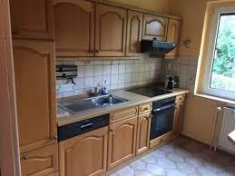 einbauk che gebraucht küche einbauküche landhaus holz gebraucht in brandenburg