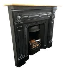 iron cast fireplace original antique cast iron fireplace mantel with wooden shelf cast iron chimney doors