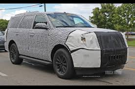lexus truck 2018 2018 ford expedition spied with unique bodywork