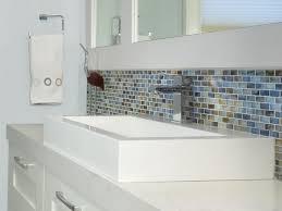 Coastal Bathroom Vanity Dazzling Coastal Cottage Bathroom Vanities With Mosaic Glass Tiles