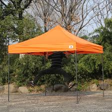 Heavy Duty Gazebo Bag by Abccanopy 10x10 King Kong Orange Canopy Instant Shelter Outdor