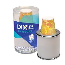 dixie everyday dual size cup dispenser 3 oz 20 count walmart