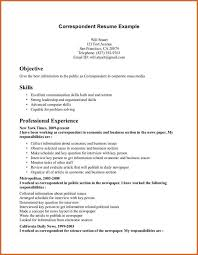 Resume Career Summary Example by Personal Statement Of Qualifications Sample