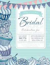 Cherry Cupcake Invitation Card Royalty Cute Cupcake Frame With A Bridal Shower Invitation Template Stock