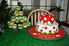 katie u0027s cakes ladybug baby shower cake