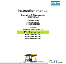 dynapac full set manual automotive library