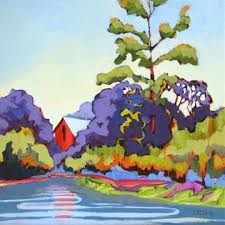 Contemporary Landscape Painting by 269 Best Carolee Clark Paintings Images On Pinterest Landscape