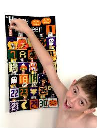 Printable Halloween Countdown Calendar Plastic Canvas Halloween Countdown Calendar Everyday Parties