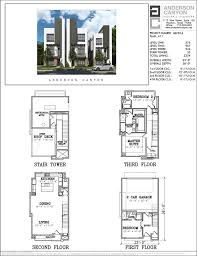 townhouse designs and floor plans 56 best 4 story th plan images on floor plans house
