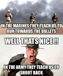 Funny Navy Memes - best marine vs army memes
